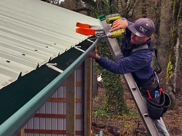 Gutter Installation in Salem Oregon